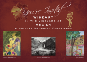 WineArt In The Vineyard - A Holiday Shopping Experience at Ancien