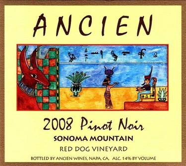 """2008 Sonoma Mountain """"Red Dog Vineyard"""""""