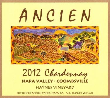 "2012 Coombsville-Napa Valley ""Haynes Vineyard"" Chardonnay"