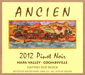 "2012 Napa Valley-Coombsville ""Haynes Vineyard Old Block"" Pinot Noir"