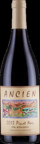 """2013 Sta Rita Hills """"Fiddlestix Vineyard"""" Pinot Noir"""