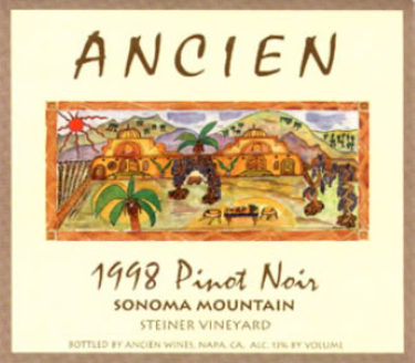 1998 Sonoma Mountain Pinot Noir