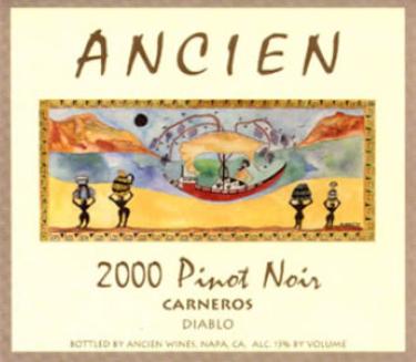 2000 Diablo Pinot Noir