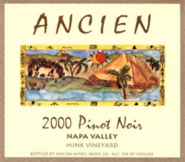 2000 Napa Valley Pinot Noir