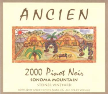 2000 Sonoma Mountain Pinot Noir