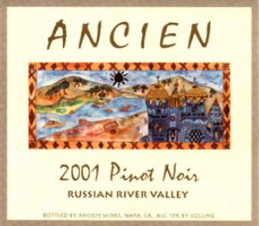 2001 Russian River Pinot Noir