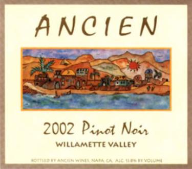 2002 Willamette Valley Pinot Noir