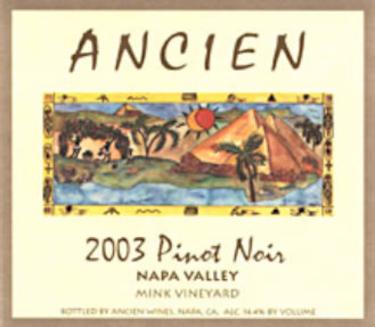 2003 Napa Valley Pinot Noir