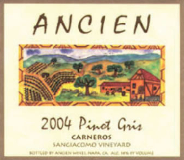 2004 Carneros Pinot Gris