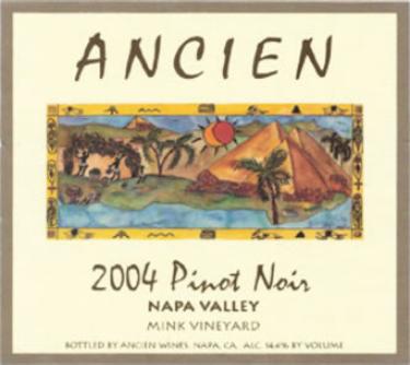 2004 Napa Valley Pinot Noir
