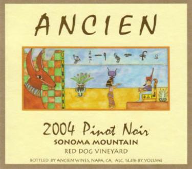2004 Sonoma Mountain Pinot Noir