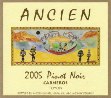 2005 Carneros Pinot Noir