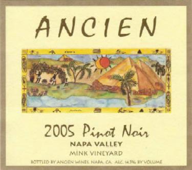 2005 Napa Valley Pinot Noir