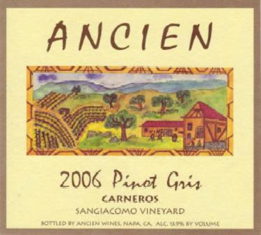 2006 Carneros Pinot Gris
