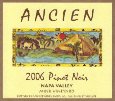 2006 Napa Valley Pinot Noir