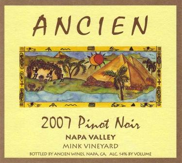 "2007 Napa Valley ""Mink Vineyard"" Pinot Noir"