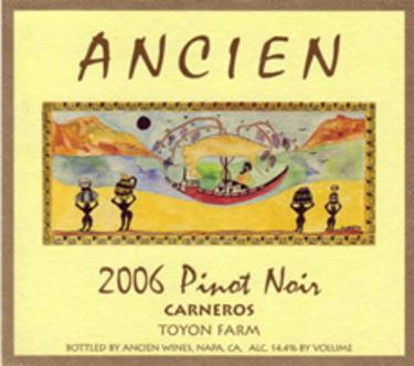 """2006 Carneros """"Toyon Farm"""" Pinot Noir"""