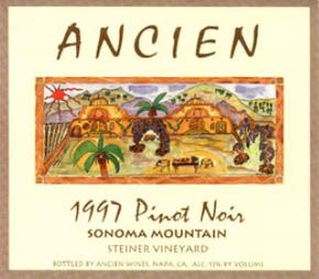 1997 Sonoma Mountain Pinot Noir