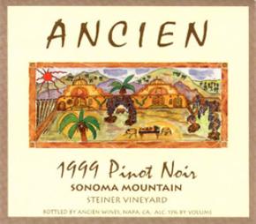 1999 Sonoma Mountain Pinot Noir
