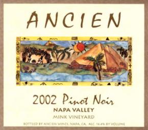 2002 Napa Valley Pinot Noir