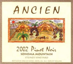 2002 Sonoma Mountain Pinot Noir