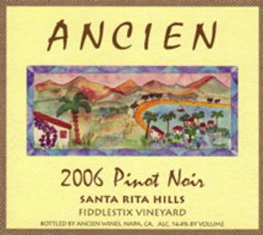 """2006 Santa Rita Hills """"Fiddlestix Vineyard"""" Pinot Noir"""