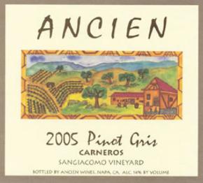 2005 Carneros Pinot Gris