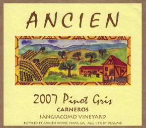 2007 Carneros Pinot Gris