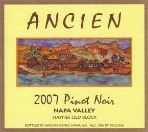"2007 Napa Valley ""Haynes Vineyard Old Block"""