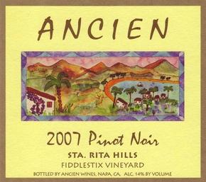 """2007 Santa Rita Hills """"Fiddlestix Vineyard"""" Pinot Noir"""