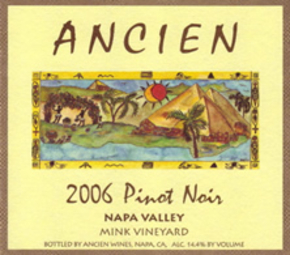 "2006 Napa Valley ""Mink Vineyard"" Pinot Noir"