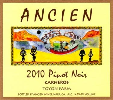 """2010 Carneros """"Toyon Farm"""""""