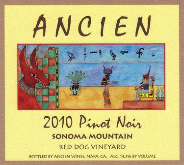 """2010 Sonoma Mountain """"Red Dog Vineyard"""""""