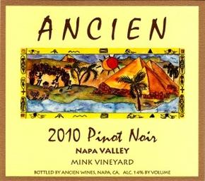 "2010 Napa Valley ""Mink Vineyard"""