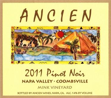 "2011 Coombsville-Napa Valley ""Mink Vineyard"""