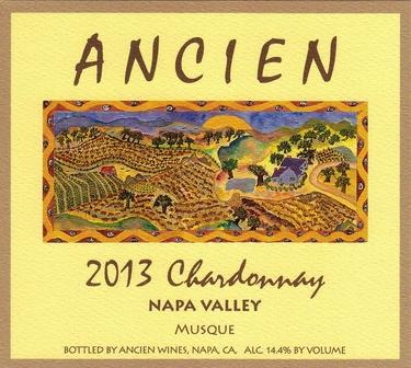 2013 Napa Valley Musque Chardonnay