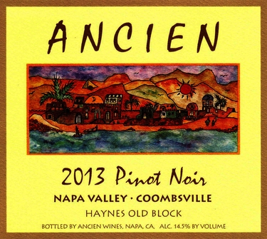 2013 Coombsville Haynes Old Block Pinot Noir