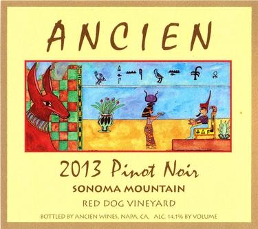 """2013 Sonoma Mountain """"Red Dog Vineyard"""" Pinot Noir"""